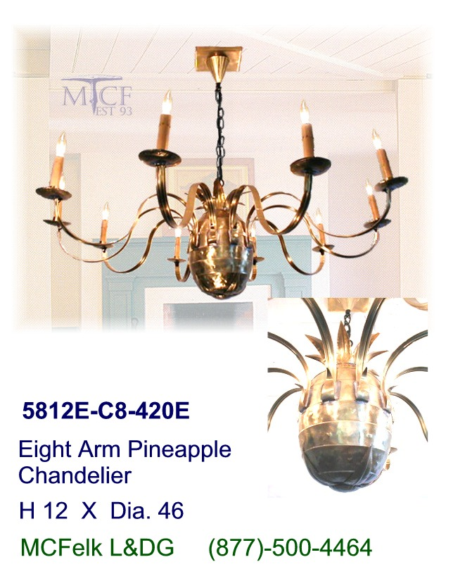 quoizel pineapple chandelier   quoizel qg501b pineapple