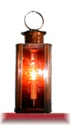 6in. dia x 9 Interior Lancaster Lamp Lighters Table Lantern