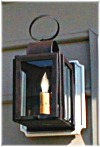 4x6 Wall mounted copper-brass-pewter-lanterns