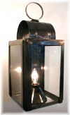 6x9 (exterior) Whale oil or Camphene wall mounted copper-brass-pewter-lanterns